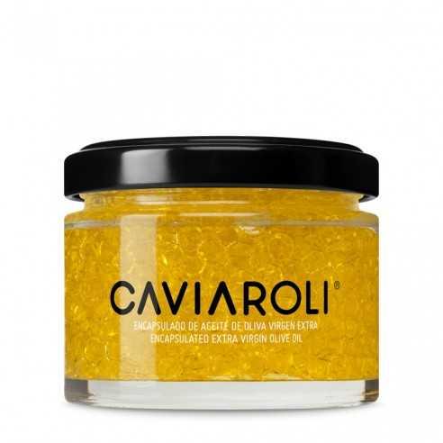 Caviaroli Olivenöl-kaviar gekapseltes Arbequina Olivenöl 50g