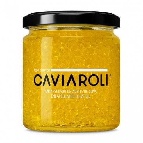 Caviaroli encapsulado de aceite de oliva virgen extra Arbequina 200g