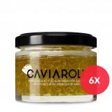 Caviaroli Olivenöl-kaviar gekapseltes Olivenöl mit Basilikum 50g