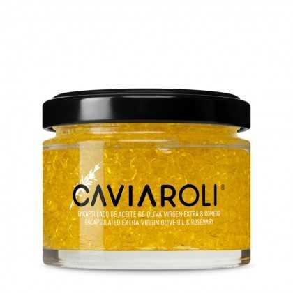 Caviaroli Olivenöl-kaviar gekapseltes Olivenöl mit Rosmarinöl 50g