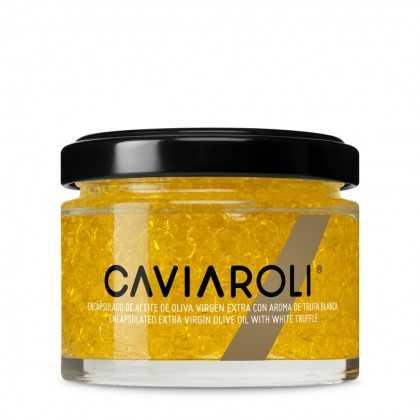 Caviaroli Olivenöl-kaviar mit weißen Trüffel 50g