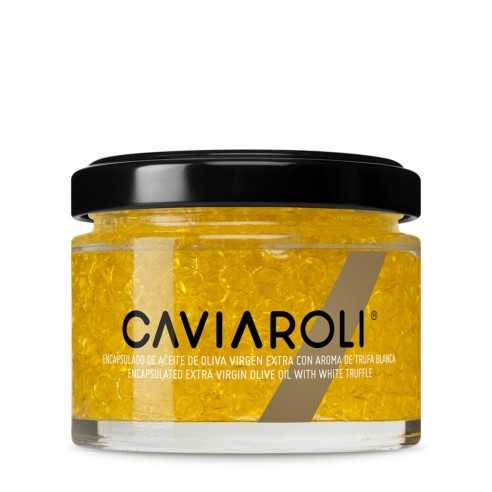 Caviaroli Encapsulated olive oil & trufa 50g