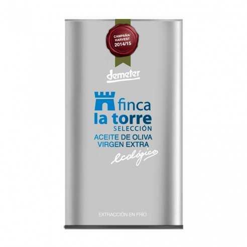 Aceite de Oliva Ecológico Finca la Torre Selección Hojiblanca 500ml