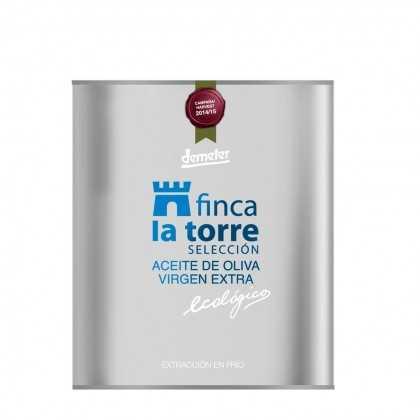 Aceite de Oliva Ecológico Finca la Torre Selección Hojiblanca 2l