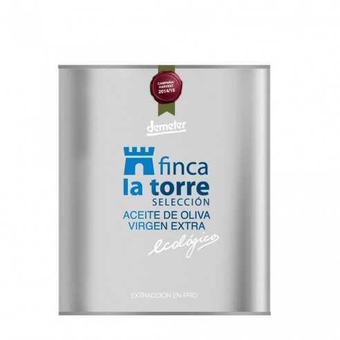 Aceite de Oliva Ecológico Finca la Torre Selección Hojiblanca Lata de 500ml