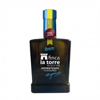 Organic Lemon Olive Oil Finca la Torre Selection 250ml
