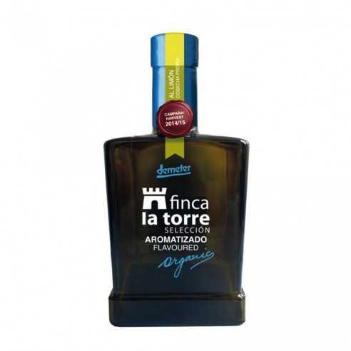 Aceite de Oliva Ecológico Finca la Torre Aromatizado de Limón 250ml
