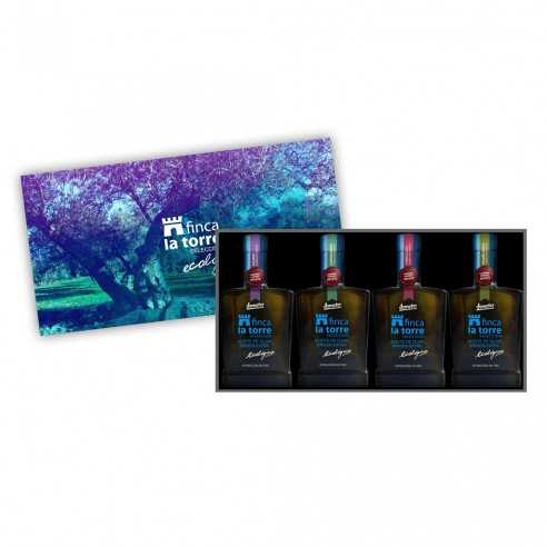 Olive Oil Finca la Torre collection of single-variety oils