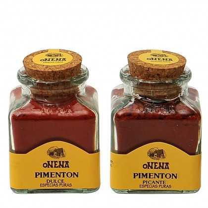 Paprikagewürz scharf & süß Onena 2X 50g