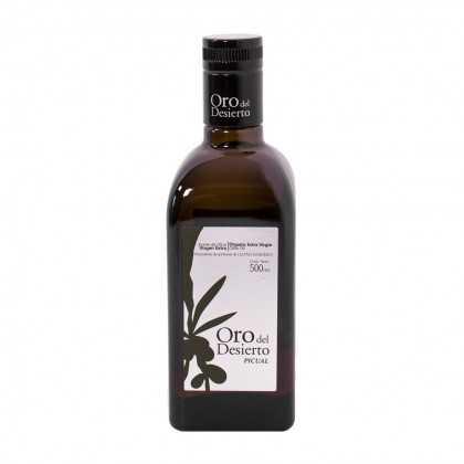 Organic Olive Oil Oro del Desierto Picual 500ml