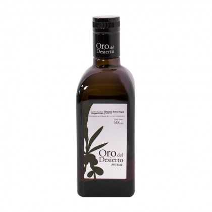 Aceite de Oliva Ecológico Oro del Desierto Picual 500ml
