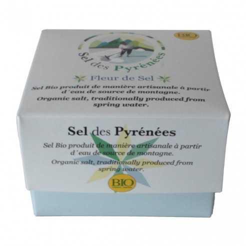 Flor de Sal Sel des Pyrenees Bio 125g