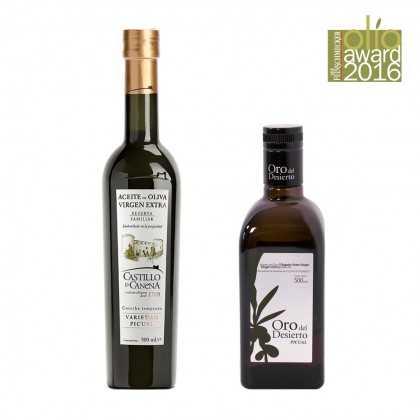 Feinschmecker Olio Award 2016 intensive fruchtiges Olivenöl Sieger Set