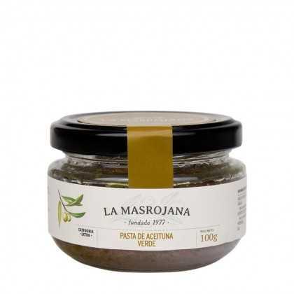 Paté de aceituna verde La Masrojana 100g
