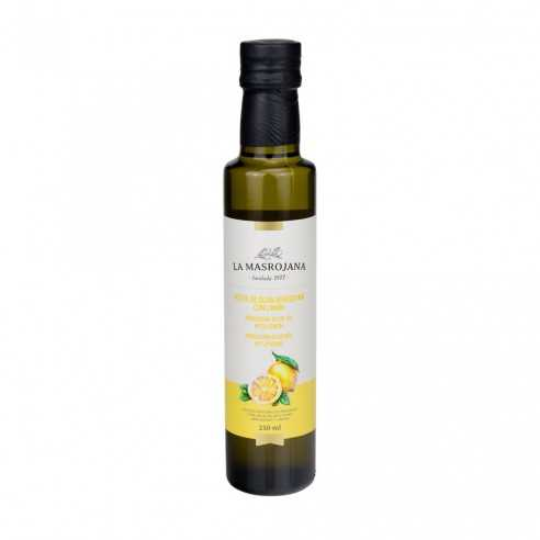 Arbequina olive oil with lemon 250ml