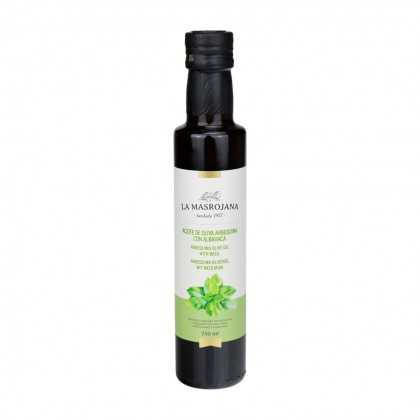 Arbequina olive oil with basil 250ml