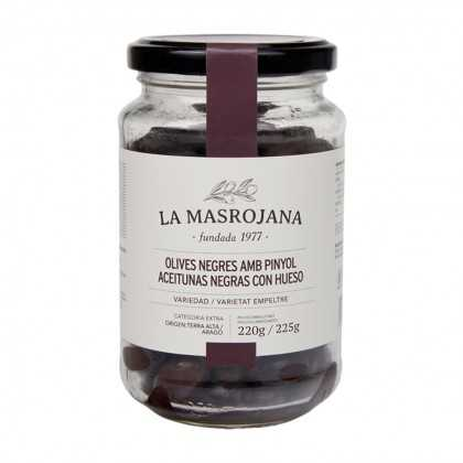 Black Olives of Aragon La Masrojana 220g