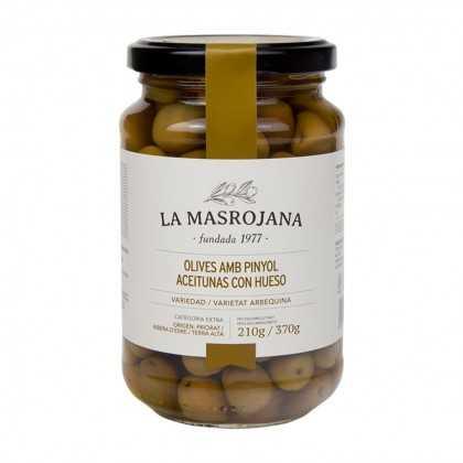 Arbequina Oliven La Masrojana 220g