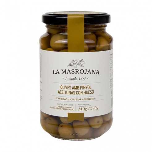 Aceituna arbequina La Masrojana 220g