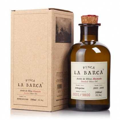 Geräuchertes Olivenöl Finca la Barca 250ml