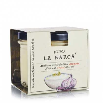 Alioli with Smoked Olive Oil Finca la Barca 120 ml
