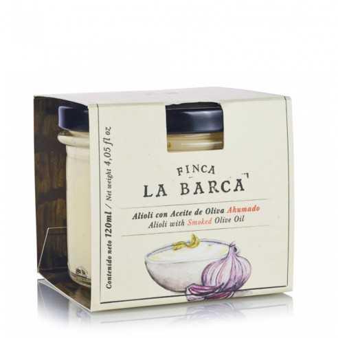 Alioli with Smoked Olive Oil Finca la Barca 120 ml