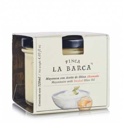Mayonnaise with Smoked Olive Oil Finca la Barca 120 ml