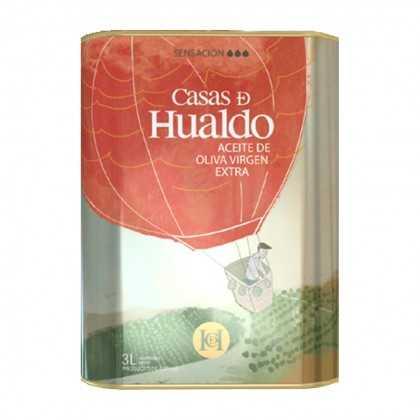 Aceite de Oliva Casas de Hualdo - Sensación, Caracter 3L