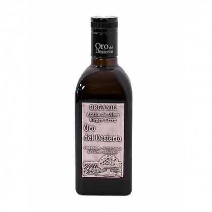 Organic Olive Oil Oro del Desierto Cupage 500ml