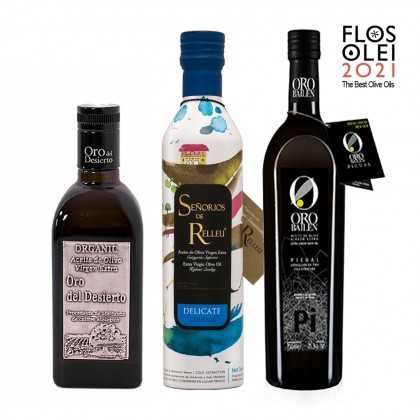 The Best Olive Oils of Flos Olei 2021