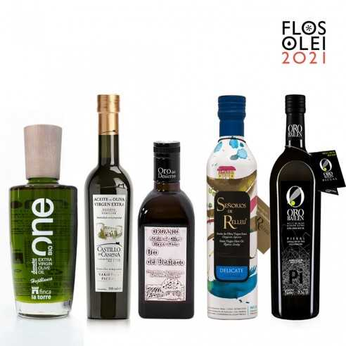 The Best Spanish Olive Oils of Flos Olei 2021
