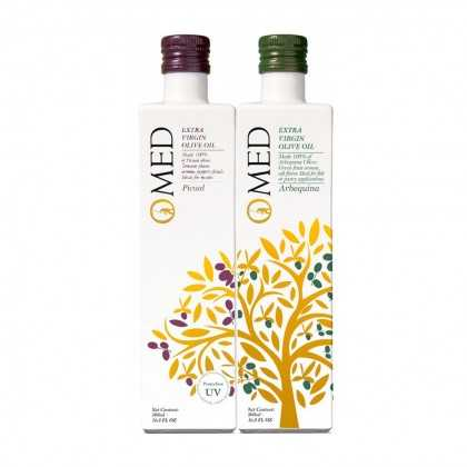 Olive Oil Set O-Med Limited Edition Picual & Arbequina 500ml