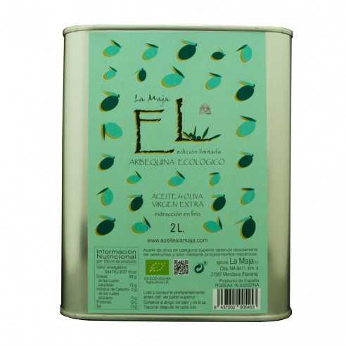 Bio Olivenöl Alfar La Maja Arbequina limitierte Auflage 2 Liter Kanister