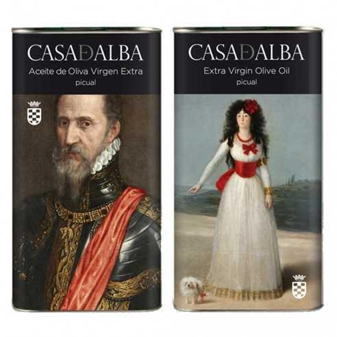 Aceite de Oliva Casa de Alba lata Duque y Duquesa 500ml