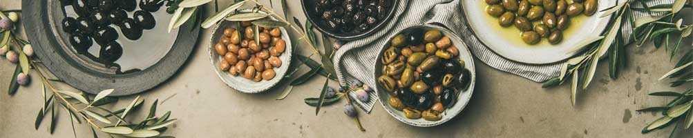 Schwarz Oliven
