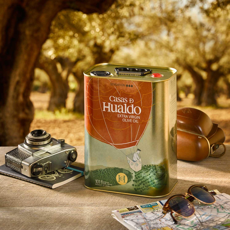 Extra natives Olivenöl Casas de Hualdo - Sensación, Caracter 3L
