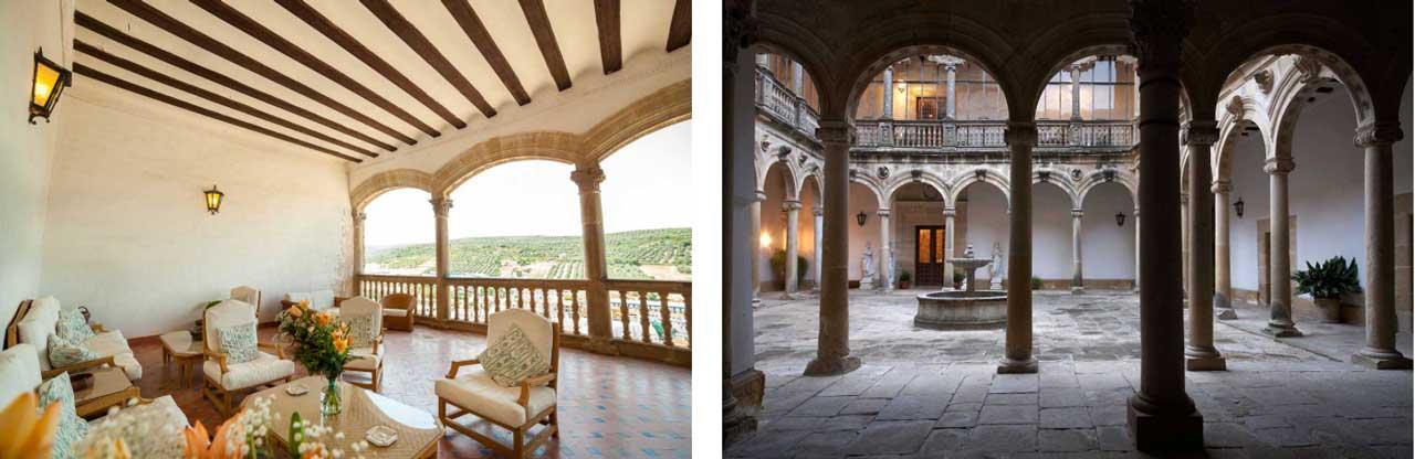 Das Schloss Castillo de Canena ist als Schloss des Olivenöls bekannt