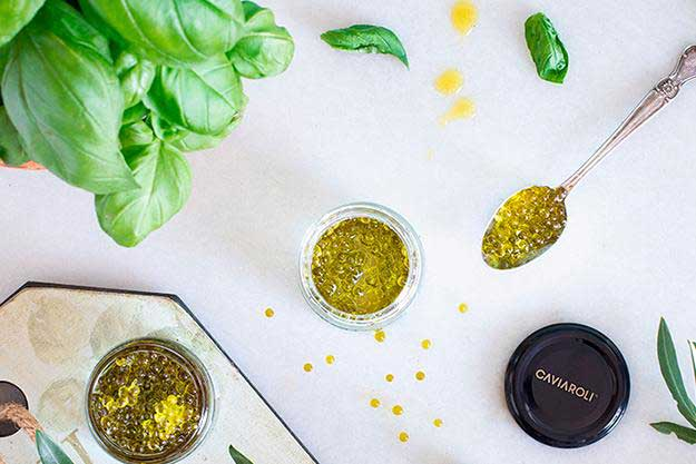 Caviaroli Olivenperlen