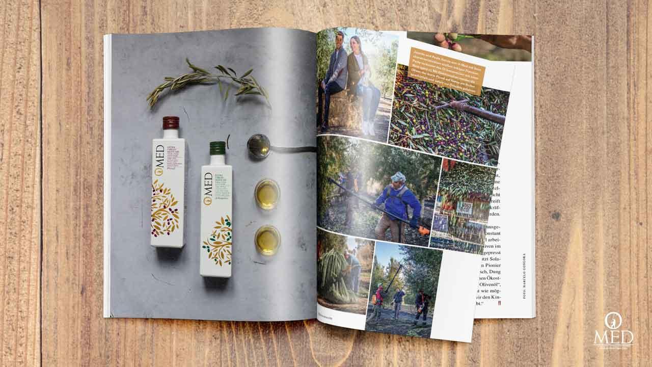 O-Med Olivenöl Testsieger - Der Feinschmecker OlioAward