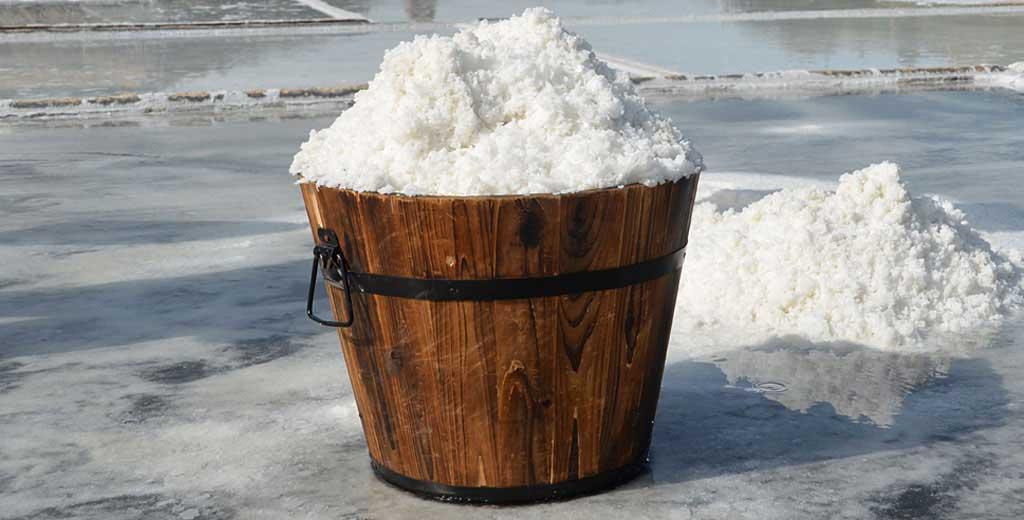 Natürliches Salz aus Navarra Sel des Pyrénées