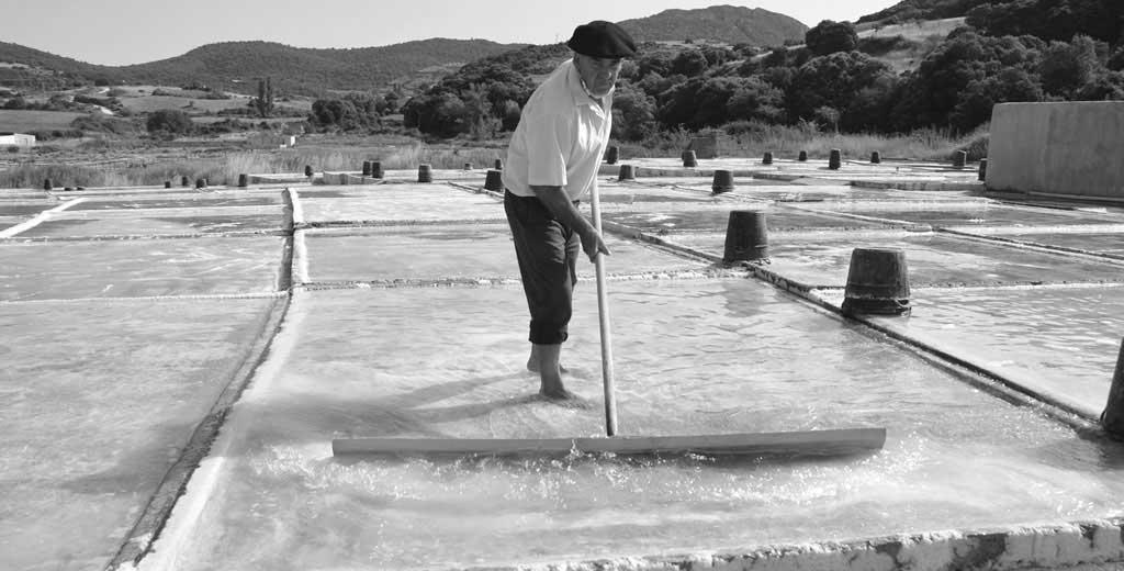 Die Salzgewinnung auf traditioneller Form