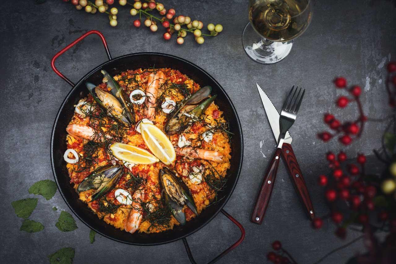 Paella aus Spanien